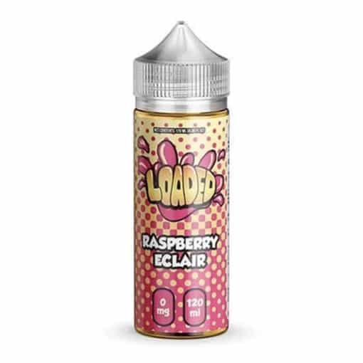 Loaded - Raspberry Eclair 100ml 0mg Short Fill