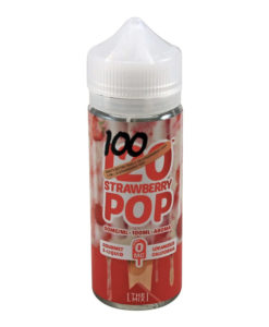 Mad Hatter - Strawberry Pop 100ml Short Fill