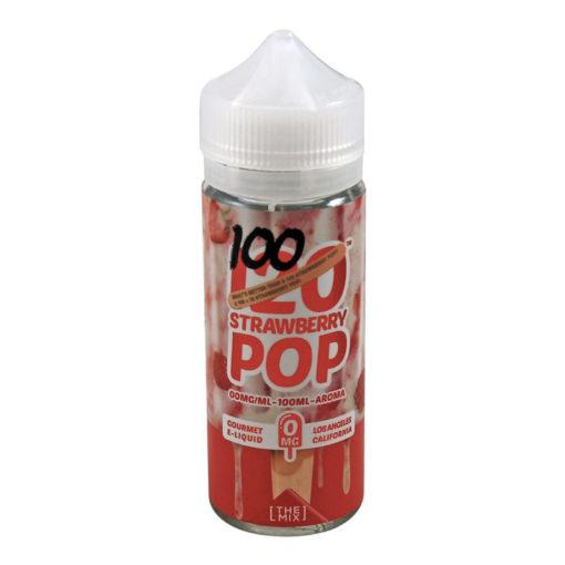 Mad Hatter - Strawberry Pop 100ml Short Fill