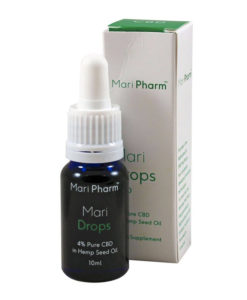 Mari Drops 4% CBD in Hemp Oil