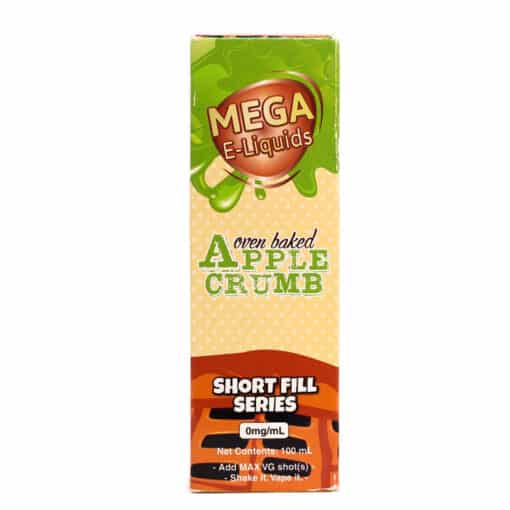 MEGA - Apple Crumb 100ml Short Fill