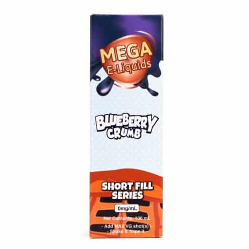 MEGA - Blueberry Crumb 100ml Short Fill