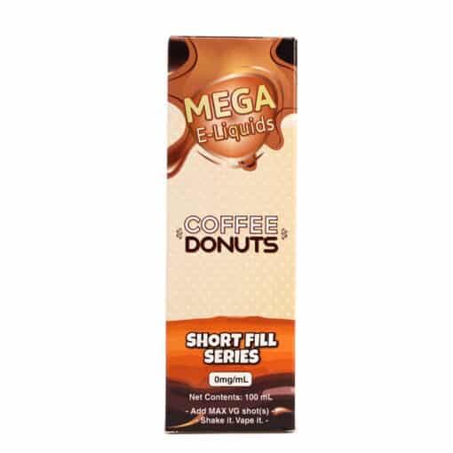 MEGA - Coffee Donuts 100ml Short Fill