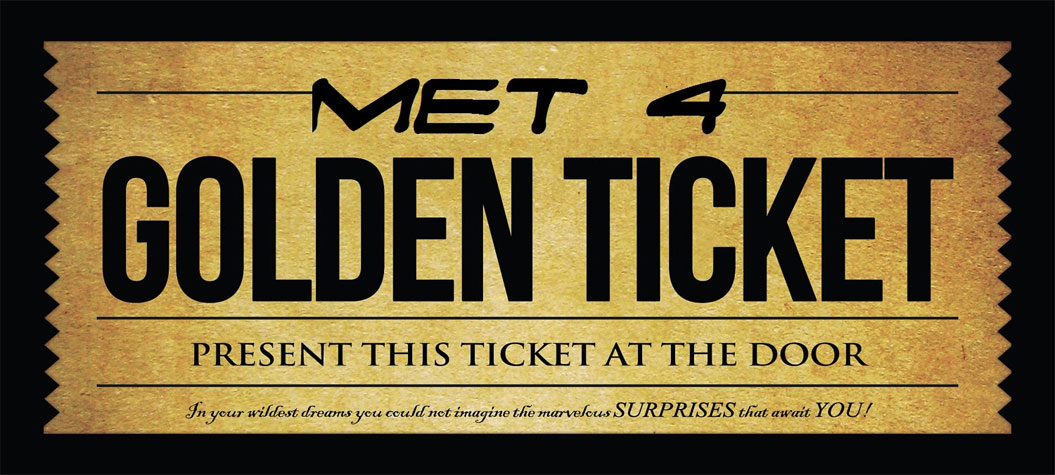 MET4 - Golden Ticket & Pacific Sangha Review