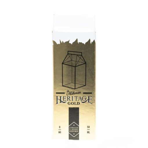 The Milkman - Heritage Gold 50ml Short Fill