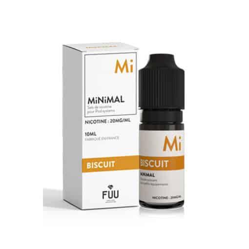FUU Minimal Salts - Biscotti 10ml Nic Salt