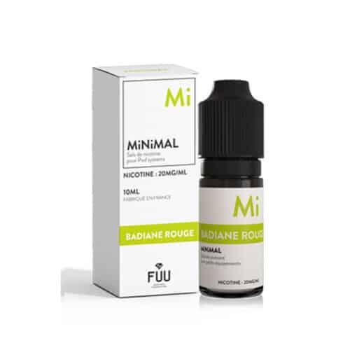 FUU Minimal Salts - Red Aniseed 10ml Nic Salt
