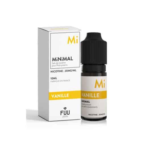 FUU Minimal Salts - Vanilla 10ml Nic Salt