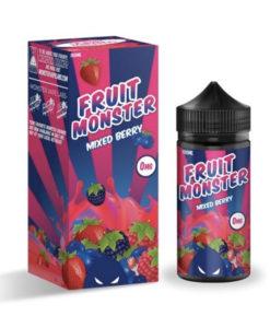 Fruit Monster - Mixed Berry 100ml 0mg Short Fill