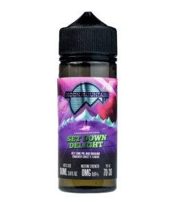 Moon Mountain - Set Down Delight 100ml 0mg Short Fill