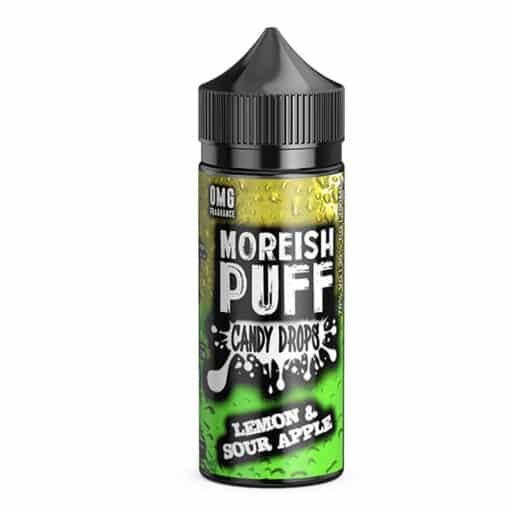 Moreish Puff Candy Drops - Lemon & Sour Apple Eliquid
