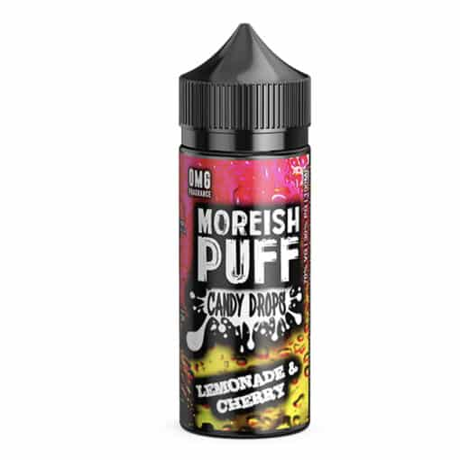 Moreish Puff Candy Drops - Lemonade & Cherry 100ml
