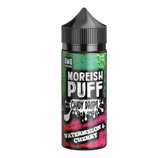 Moreish Puff Candy Drops - Watermelon & Cherry 100ml