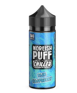 Moreish Puff Chilled - Blue Raspberry 100ml Short Fill