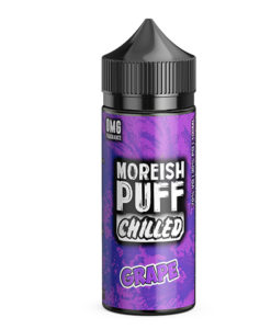 Moreish Puff Chilled - Grape 100ml 0mg Short Fill
