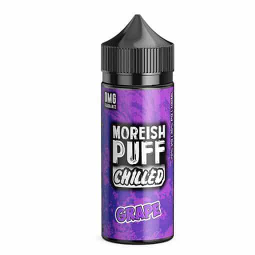 Moreish Puff Chilled - Grape 100ml 0mg Short Fill