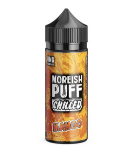 Moreish Puff Chilled - Mango Chilled 100ml Short Fill