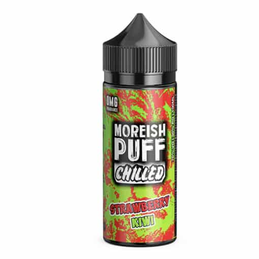 Moreish Puff Chilled - Strawberry Kiwi Chilled 100ml Short Fill