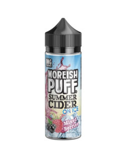 Moreish Puff - Summer Cider Mixed Berries on Ice 100ml Eliquid