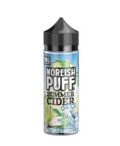 Moreish Puff - Summer Cider Pear on Ice 100ml Eliquid