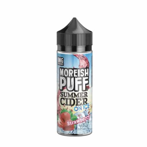Moreish Puff - Summer Cider Strawberry on Ice 100ml Eliquid