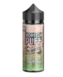 Moreish Puff Prosecco - Elderflower Prosecco 100ml Short Fill