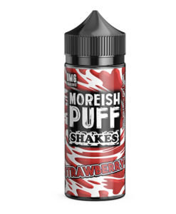 Moreish Puff Shakes - Strawberry Shakes 100ml