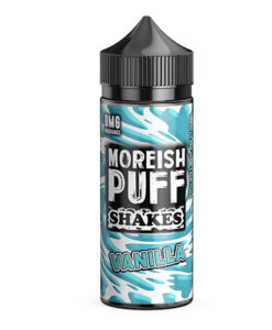 Moreish Puff Shakes - Vanilla Shake 100ml Short Fill Eliquid