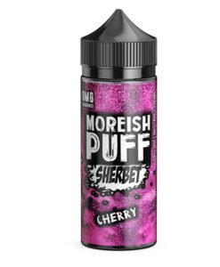 Moreish Puff Sherbet - Cherry Sherbet 100ml 0mg Short Fill