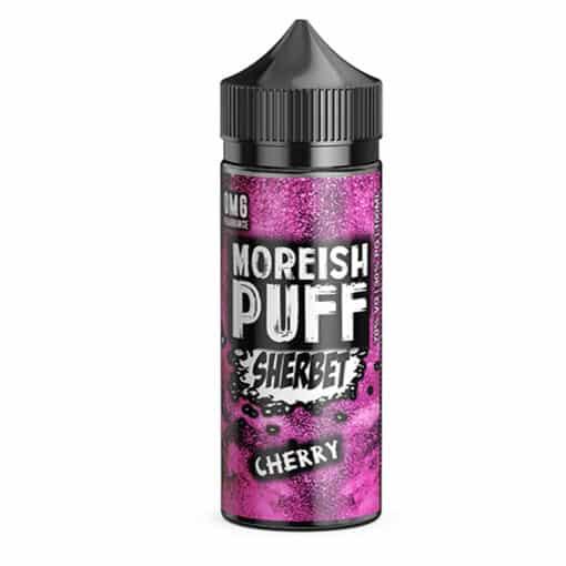 Moreish Puff Sherbet - Cherry Sherbet 100ml 0mg Short Fill