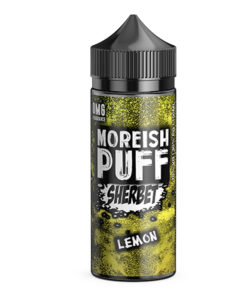 Moreish Puff Sherbet - Lemon Sherbet 100ml Short Fill