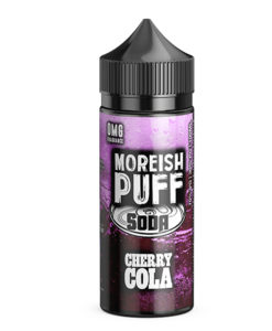 Moreish Puff Soda - Cherry Cola 100ml Short Fill