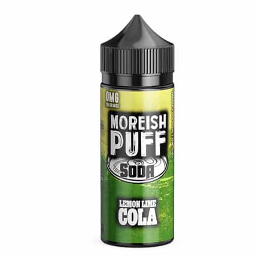 Moreish Puff Soda - Lemon & Lime Cola 100ml