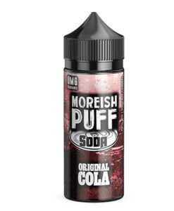 Moreish Puff Soda - Original Cola 100ml Short Fill