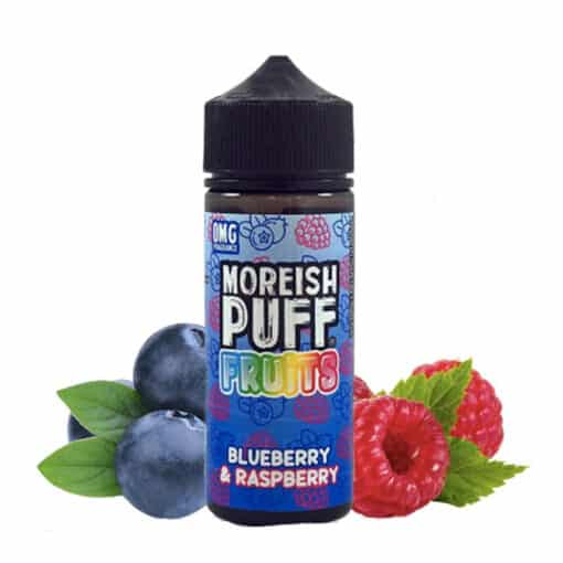 Blueberry & Raspberry by Moreish Puff Fruits