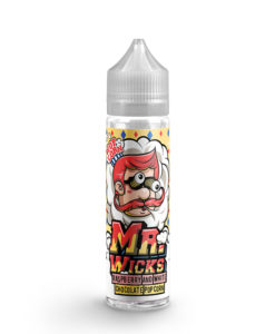 Mr Wicks - Raspberry White Chocolate Popcorn 50ml