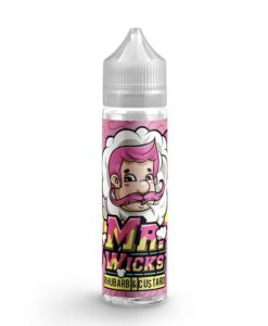 Mr Wicks - Rhubarb and Custard 50ml