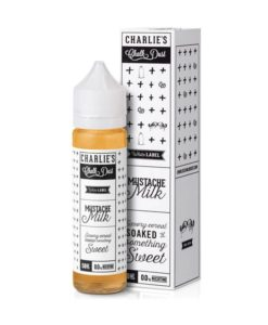 Charlie's Chalk Dust - Mustache Milk 50ml Short Fill