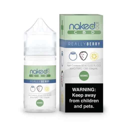 Naked 100 CBD - Really Berry CBD 30ml 600mg