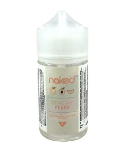 Naked 100 - Peachy Peach 50ml Eliquid