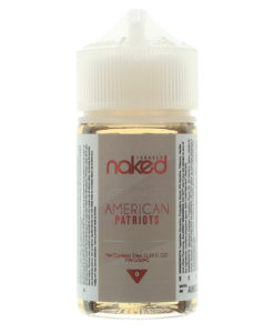 Naked 100 - American Patriots 50ml Eliquid Short Fill