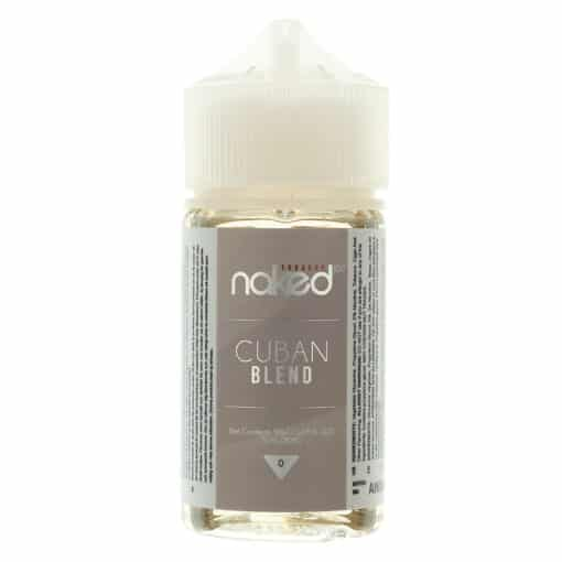 Naked 100 - Cuban Blend 50ml Eliquid Short Fill
