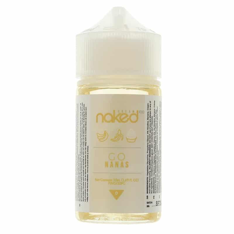 Go Nanas by Naked 100 E-liquid - 60ml Bananas & Cream E