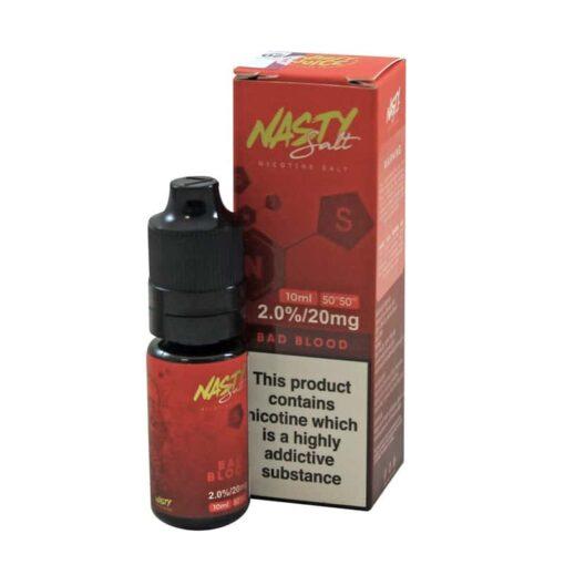 Nasty Juice - Bad Blood Nic Salt 10mg & 20mg