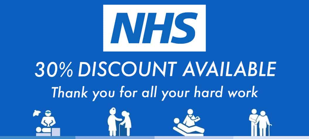 NHS Staff Discount 2021 30% OFF