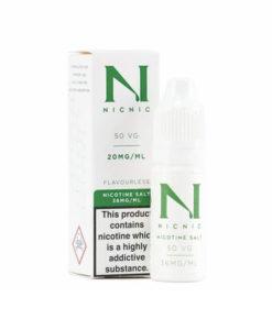 Nic Nic 20mg & 36mg Nicotine Shots