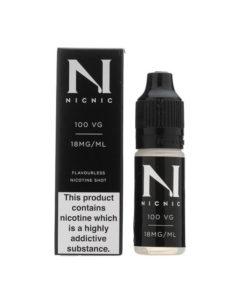 NicNic - 100% VG 18mg Nicotine Shot