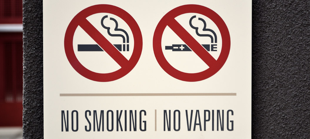No Smoking - No Vaping UK Hospitals
