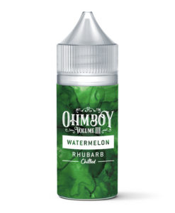 Ohm Boy Vol III Watermelon Rhubarb Chilled Concentrate 30ml