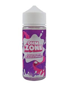 Ohm Zone - Raspberry Blackcurrant 100ml E-Liquid